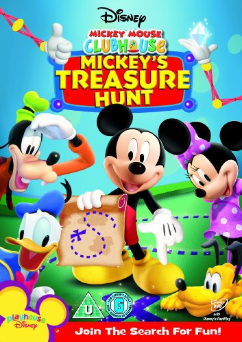 Mickey Mouse Clubhouse - Mickey's Treasure Hunt [DVD]