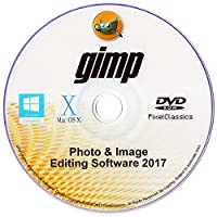 Photo Editing Software 2017 Photoshop CS5 CS6 Compatible GIMP Premium Image Editor for PC Windows 10 8 7 Vista XP & Mac OS X