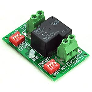 Electronics-Salon Low Voltage Disconnect Module LVD, 12V 30A, Protect/Prolong Battery Life. from Electronics-Salon