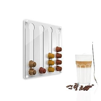 Nespresso Kapsel-//Padhalter Kapselspender CoffeeTower N-120 Weiß