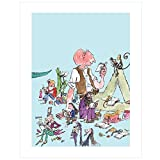 Roald Dahl Characters by Quentin Blake (Mini Print)