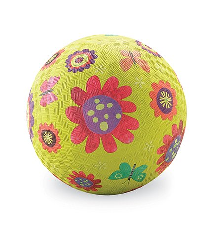 "Crocodile Creek 5"" Playball/Flower Garden Green"