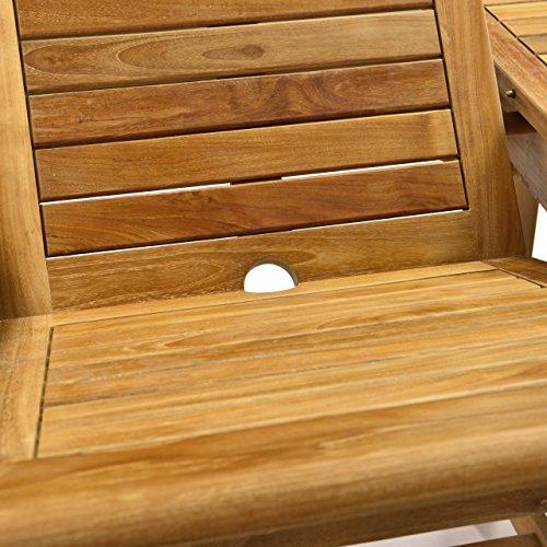 Terrasse Holz Witterungsbeständig ~ Gartentisch Esstisch Balkontisch Holz Teak Tisch für Terrasse