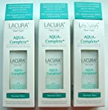 3 Bottles of Award Winning Lacura Face Care Aqua Complete Multi Intensive Serum Light Cream Gel With Marine Extracts Voted Best Anti Ageing Cream