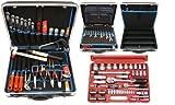 Famex 620-21 Werkzeug Komplettset Top-Qualität in ABS Schalenkoffer 32 L mit 66-teiligem Steckschlüsselsatz Rezessionen