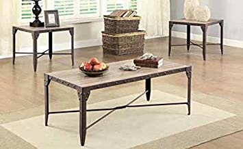 Coffee Table in Black Finish by Coaster Furniture