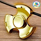 Smiles Creation Metal Fidget Spinner Toy Stress Focus Toy Relieves Boredom More Than 3 Minutes Spin Time!