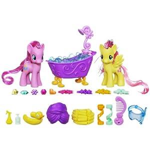 My Little Pony Pinkie Pie and Fluttershy Crystal Sparkle Bath Set