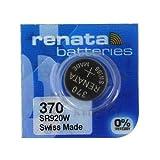 renata レナータ 370 1個 酸化銀ボタン電池(SR920W)※スウォッチグループ/スイス製【正規国内代理店製品】