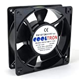 115V AC Cooling Fan. 127mm x 38mm HS
