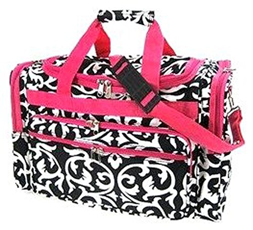 LD Bags Womens Damask Duffel Bag