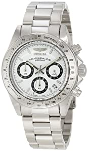 "Invicta Men's 9211 ""Speedway Collection"" Stainless Steel Watch"