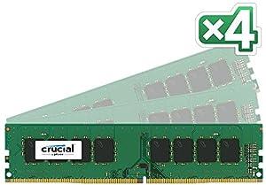 Crucial 8 GB DDR4 2133 UDIMM Unbuffered DIMM 288-Pin Desktop Memory (CT8G4DFD8213)