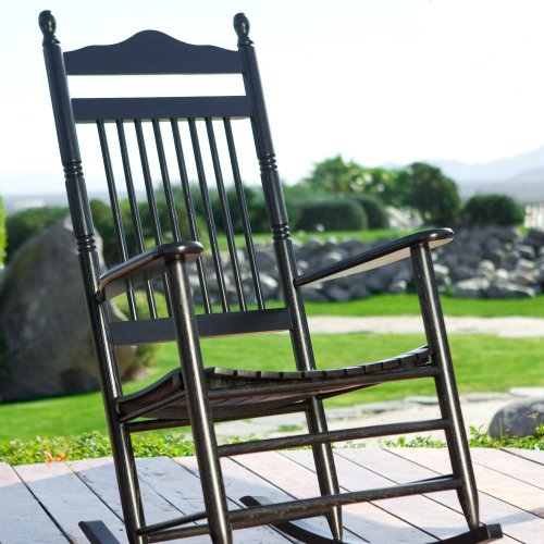 Dixie Seating Indoor/Outdoor Spindle Rocking Chair -