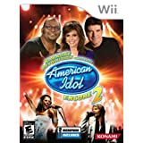 Karaoke Revolution: Presents American Idol Encore 2 with Microphone - Nintendo Wii ~ Konami