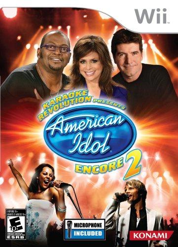 Karaoke Revolution: Presents American Idol Encore 2 with Microphone - Nintendo Wii