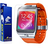ArmorSuit MilitaryShield - Samsung Galaxy Gear 2 Screen Protector Anti-Bubble Ultra HD - Extreme Clarity & Touch Responsive Shield with Lifetime Free Replacements - Retail Packaging