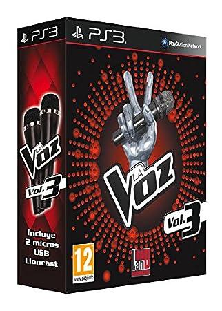 La Voz 3 + 2 Micrófonos