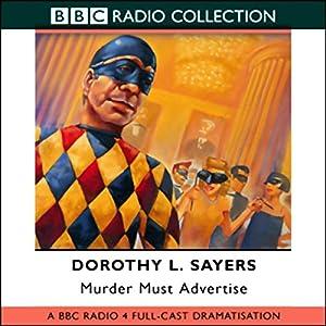 Murder Must Advertise (Dramatized) Hörspiel
