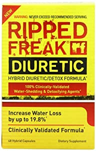 Pharmafreak Ripped Freak Nutritional-Supplement, Diuretic, 48 Count