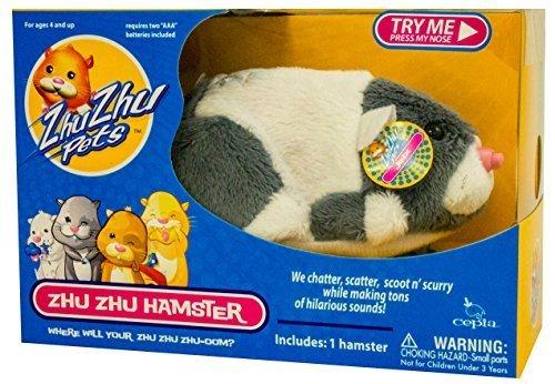 Zhu Zhu Pets Series 4 Hamster Toy Jinx - 1