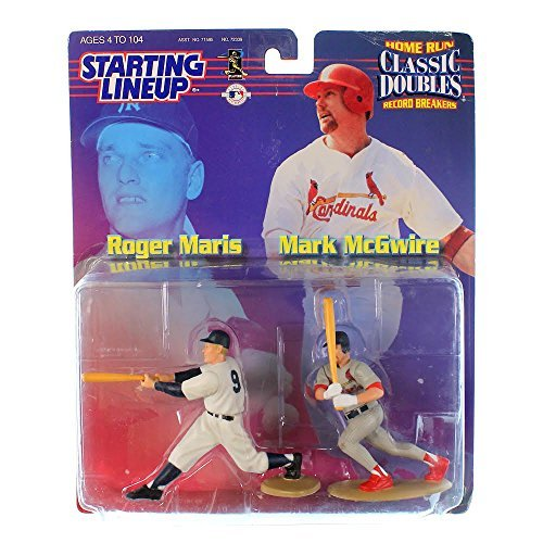1999 MLB Starting Lineup Classic Doubles Special Edition - Roger Maris & Mark McGwire