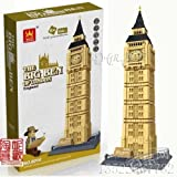 THE BIG BEN of London Building Blocks 1642pcs Set, Compatible with Lego parts , World's Great Architecture Series , Set in Huge Gift Box