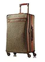Hartmann Tweed Collection Medium Journey Expandable Spinner, Natural Tweed, One Size