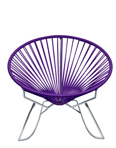 Purple Rocking Chair