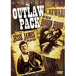 Outlaw Pack (Jesse James Outlaw Hero + The Tale Of Robin Hood)