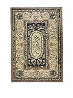 Eden Carpets Alfombra Aubusson Barro 275 x 183 cm