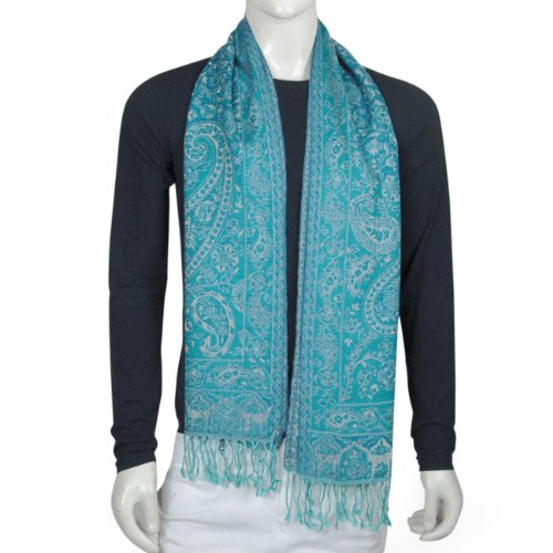 Mens Winter Fashion Neck Scarf Pure Wool 13 X 64 inches