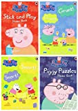 Astley Baker Davies Peppa Pig Activity + Sticker Books: 4 books collection (Stick and Play Sticker Book / Piggy Puzzles Sticker Book / Snort! Snort ! Sticker Activity / Grunt! Grunt! £11.96)