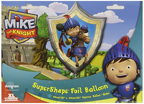 Mike The Knight Party - Shield Supershape Foil Balloon - 1