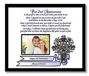 Gift For Husband 2nd Wedding Anniversary : Amazon.com2nd Anniversary Gift for Husband, Wife, Boyfriend or ...