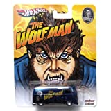 Volkswagen T1 Panel Bus The Wolfman Universal Studios Hot Wheels Vehicle