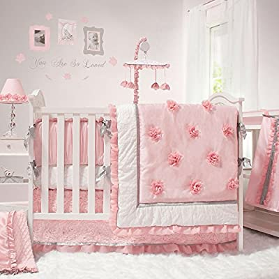 Arianna 5 Piece Girl Crib Bedding Set by The Peanut Shell