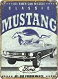 Ford Classic Mustang Blechschild Stabil Groß NEU 40x30cm S3456