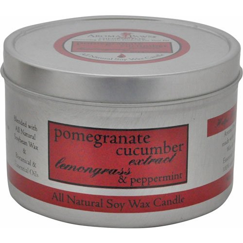 Pomegranate Cucumber Travel Tin Candle
