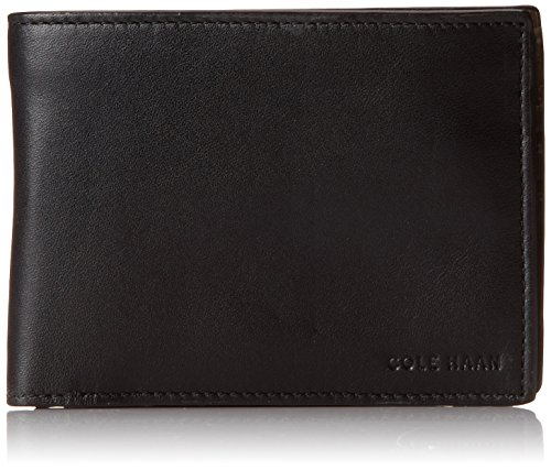 Cole Haan Men's Pebble Slimfold Wallets, Black, One Size (Cole Haan Slimfold Wallet compare prices)