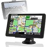 ポータブルナビ 7インチ カンタン 3年間 地図更新無料 2016年 住友電工 初心者 年配 女性 GPS ワンセグ 外部入力 バックモニター タッチパネル Bluetooth NV-A004A