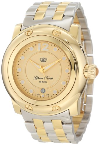 Glam Rock Women's GR1004B Miami Light Gold Dial Watch