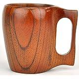 [ラトルウッド]RattleWood 木製 ビアマグ ビールジョッキ マグカップ コップ (ブラウン)