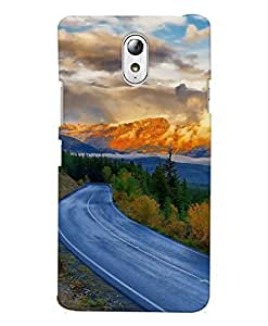 FurnishFantasy Designer Back Case Cover for Lenovo Vibe P1m