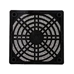 8cm Axial Fan Dust Filter Guard Grill Protector Cover Case for PC Computer