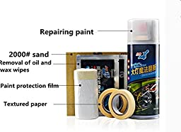 MeMeDa Headlight and Clear Plastic Restoration Kit The Best Headlight Restoration Kit in the market (4)
