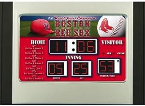 Boston Red Sox MLB Scoreboard Desk & Alarm Clock by Unknown