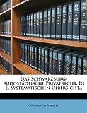 img - for Das Schwarzburg-rudost dtische Privatrecht: In E. Systematischen Uebersicht... book / textbook / text book