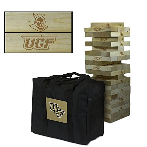 NCAA University of Central Florida UCF Knights Giant Wooden Tumble Tower Game (Central Florida Knights compare prices)