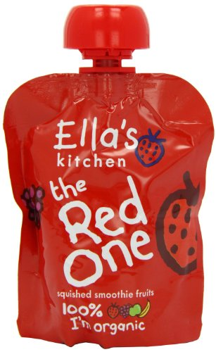 Ella's Kitchen The Red One Smoothie Fruits 90 g (Pack of 24)